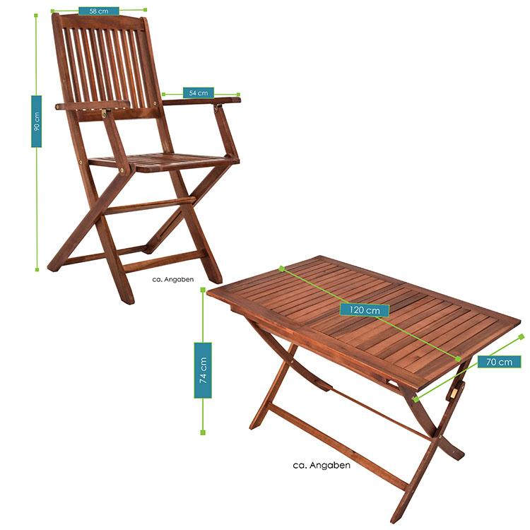 gartenm bel holzm bel sitzgruppe akazie holz gartenset essgruppe sitzgarnitur ebay. Black Bedroom Furniture Sets. Home Design Ideas