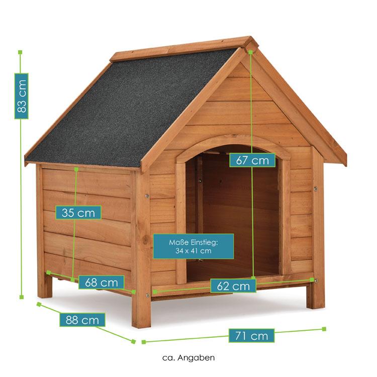 hundeh tte hundehaus rocky juskys. Black Bedroom Furniture Sets. Home Design Ideas