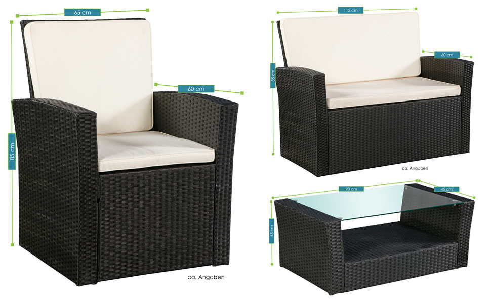 polyrattan sitzgruppe polyrattan sitzgruppe gartenset with polyrattan sitzgruppe rattan set. Black Bedroom Furniture Sets. Home Design Ideas
