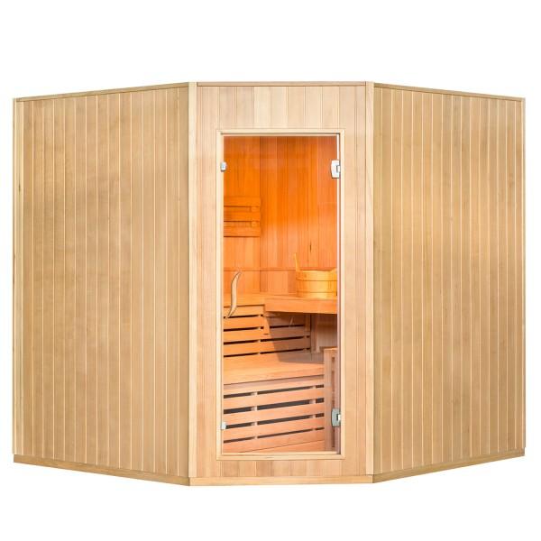 Traditionelle Saunakabine / Finnische Sauna Aarhus 200 x 200 cm 8 kW