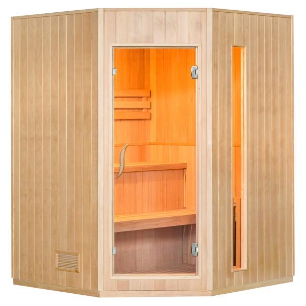 Traditionelle Saunakabine / Finnische Sauna Aarhus 150 x 150 cm 6 kW