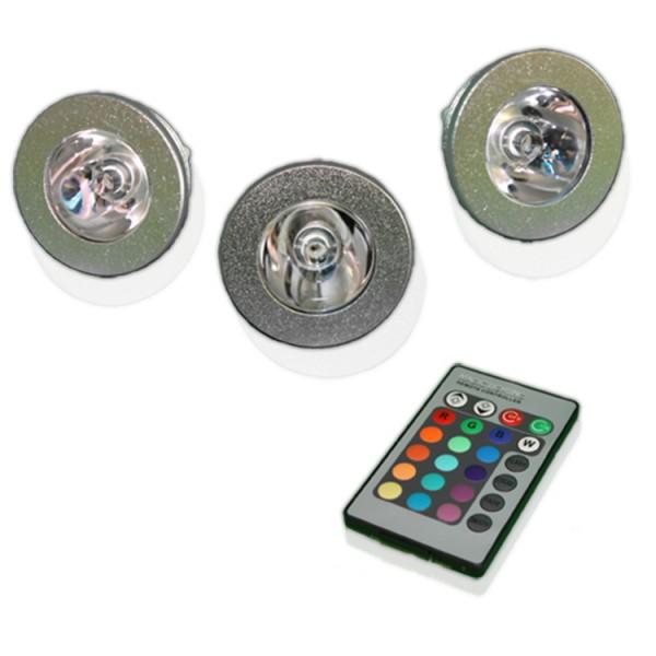 LED Farblichttherapie-Set mit Fernbedienung